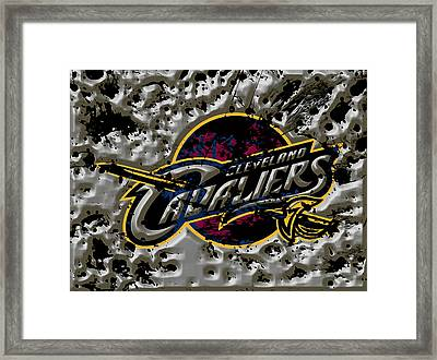 The Cleveland Cavaliers Framed Print