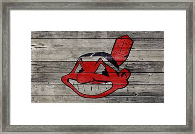 The Cleveland Indians 2w Framed Print