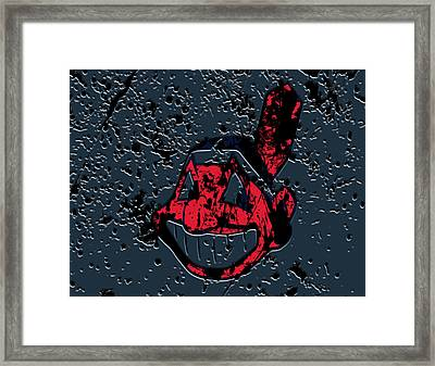 The Cleveland Indians Framed Print by Brian Reaves