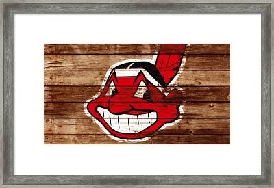 The Cleveland Indians C1 Framed Print by Brian Reaves