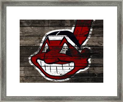 The Cleveland Indians C2 Framed Print by Brian Reaves