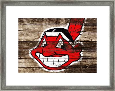 The Cleveland Indians C3 Framed Print by Brian Reaves