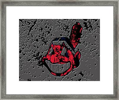 The Cleveland Indians1a Framed Print by Brian Reaves