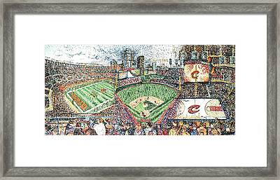 The Cleveland Three Framed Print by Patrick Geyser