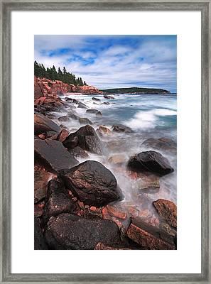 The Cliff   Framed Print by Emmanuel Panagiotakis