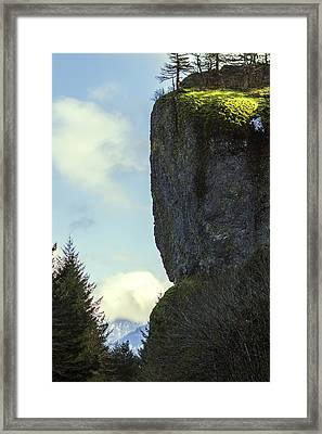 The Cliff Framed Print