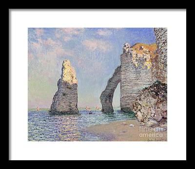 Rock Formation Framed Prints