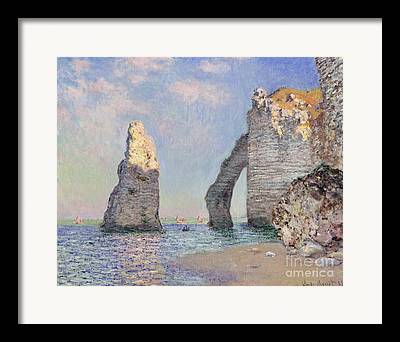 Rocks Paintings Framed Prints