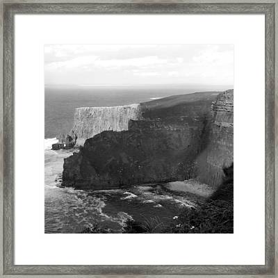 The Cliffs Of Mohar II - Ireland Framed Print by Mike McGlothlen