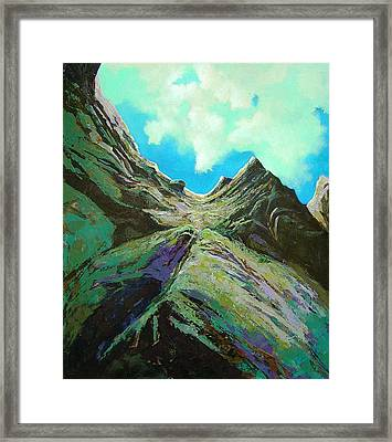 The Climb Framed Print by Dale  Witherow