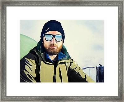 The Climber Framed Print