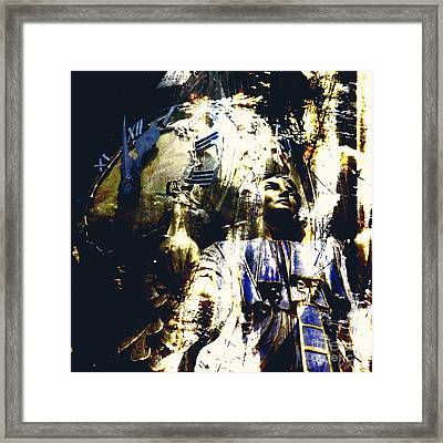 The Clock Struck One Framed Print