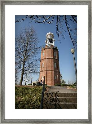 The Clocktower Framed Print