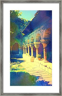 The Cloisters Framed Print