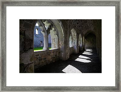 The Cloisters In Killmallock 12th Framed Print