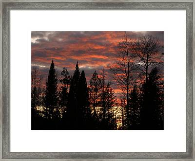 Framed Print featuring the photograph The Close Of Day by DeeLon Merritt
