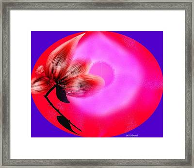 The Closed World Of The Love Framed Print by Dr Loifer Vladimir