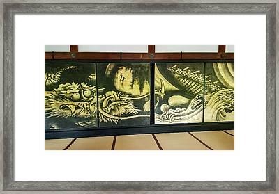 The Cloud Dragon Framed Print by Mason Born
