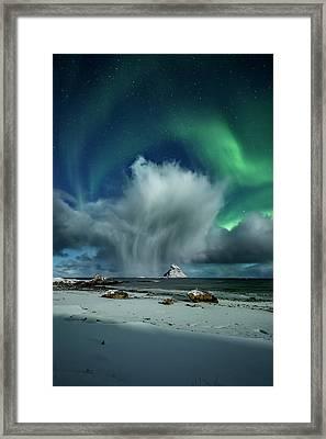The Cloud I Framed Print