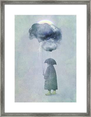 The Cloud Seller Framed Print by Eric Fan