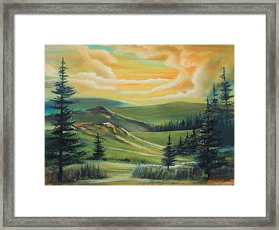 The Clouds Framed Print