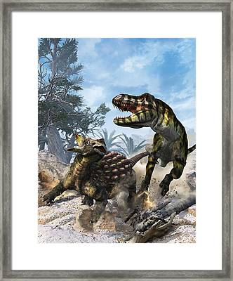 The Clubbed Tail Framed Print