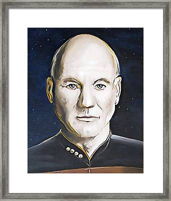 The Commanding Officer Framed Print by David Bader