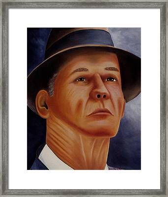 The Coach Framed Print by Gene Gregory