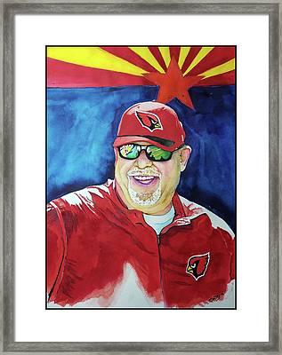 The Coach Framed Print by Fred Smith