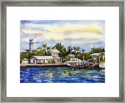 The Coast Of Nassau Framed Print