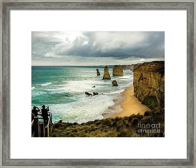 Framed Print featuring the photograph The Coast by Perry Webster