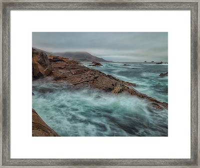 The Coastline Framed Print