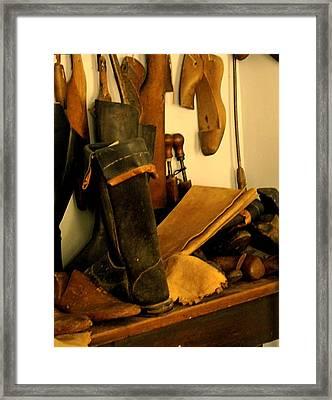 The Cobbler Framed Print by Ian  MacDonald