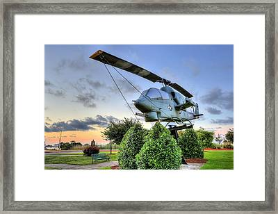 The Cobra Ah1 Framed Print by JC Findley
