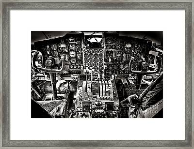 The Cockpit Framed Print by Olivier Le Queinec