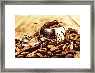 The Coffee Roast Framed Print