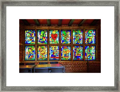 The Coffee Shop On Bottcherstrasse Bremen Framed Print by Carol Japp