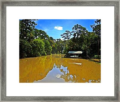 The Cold Hole Framed Print