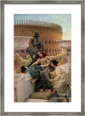 The Coliseum Framed Print by Sir Lawrence Alma-Tadema