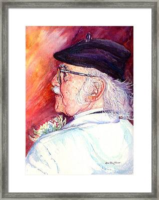The Colleague Framed Print by Estela Robles