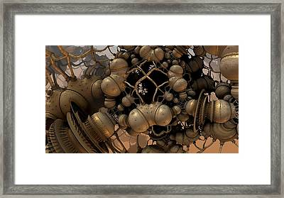 The Collective Framed Print by Hal Tenny