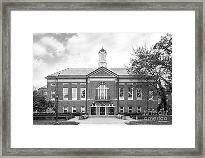The College Of William And Mary Mason School Of Business Framed Print by University Icons