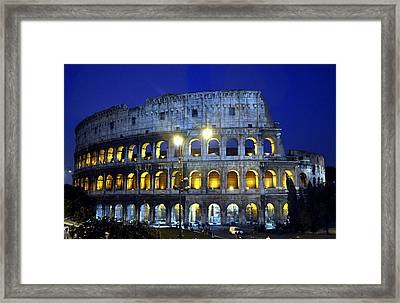 The Colliseum Framed Print by Andrew Dinh