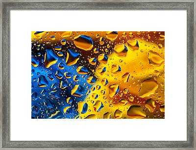 The Collision Framed Print
