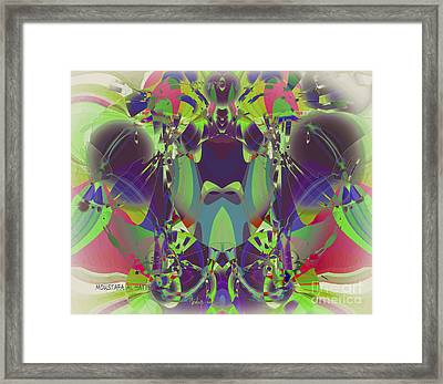The Color Mask Framed Print by Moustafa Al Hatter