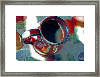 The Color Of Coffee Framed Print