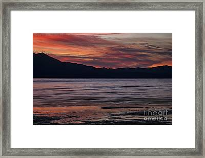 The Color Of Dusk Framed Print