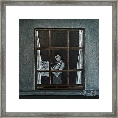 The Color Of Flute Framed Print by Fei A
