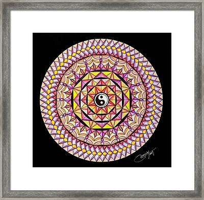 The Color Of Hapiness Framed Print by Marcia Lupo