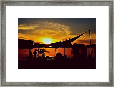 The Color Of Pacifica Framed Print by See My  Photos